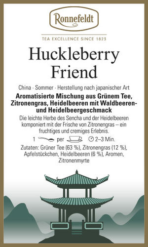 Huckleberry Friend - Ronnefeldt