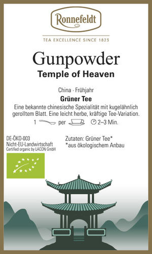 Gunpowder - Temple of Heaven - Ronnefeldt