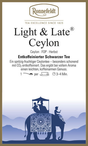 Light & Late Ceylon - Ronnefeldt