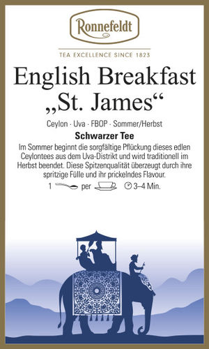 "English Breakfast ""St. James"" - Ronnefeldt"
