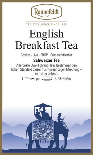 English Breakfast Tea - Ronnefeldt