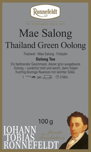 Mae Salong Thailand Green Oolong - Ronnefeldt