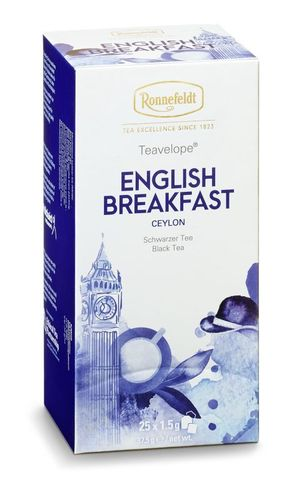 Teavelope® English Breakfast - Ronnefeldt