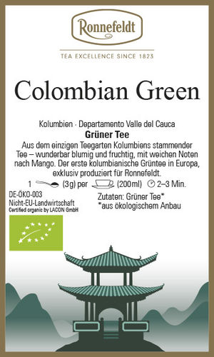 Colombian Green - Ronnefeldt