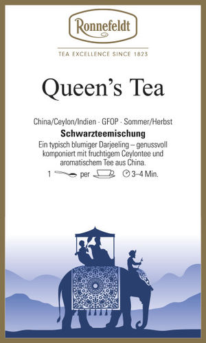 Queen's Tea - Ronnefeldt