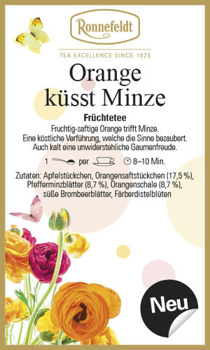 Orange küsst Minze  - Ronnefeldt